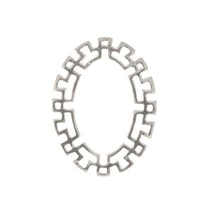 Picture of Mayan Silver Oval Frame